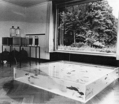 Hans Haacke: RHINEWATER PURIFICATION PLANT, 1972