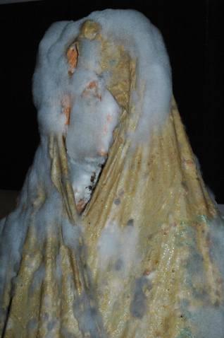 Penészes figura / Moulded Figure, Labin, Horvátország / Croatia, 2012