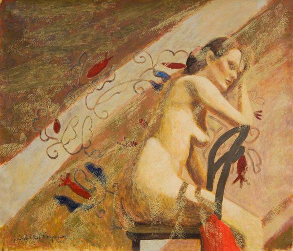Fénysáv / Lightbar, 2009, akril, vászon / acrylic on canvas