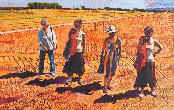 Nyári hevülés / Summer Heating, 2010, olaj, vászon / oil on canvas
