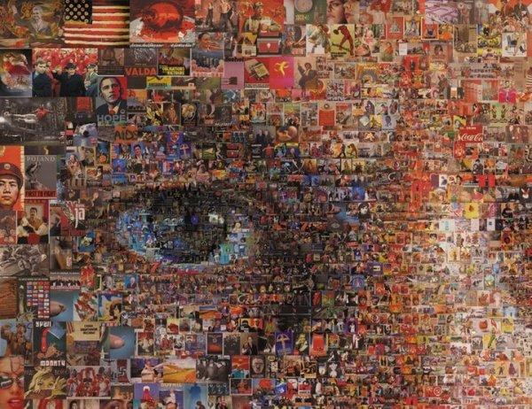Maszk / Mask, digitális nyomat / digital print, 2010