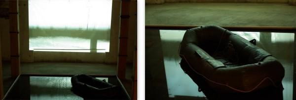 Megszakított tükröződés / Stopped Reflexions, videóinstalláció / video installation, 2010