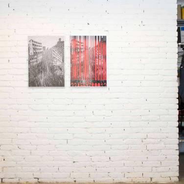 Bodor Anikó: ON, print, dibond 100x70 cm; OFF, print, dibond 100x70 cm